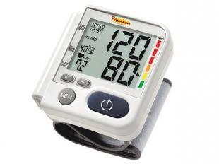 Com 03 anos de garantia e aprovado pelo INMETRO este aparelho de pressão digital de pulso é ideal para medir sua pressão arterial, sistólica, diastólica e a frequência cardíaca. Totalmente automático, memória para 120 resultados com data e hora e indicador gráfico de nível de hipertensão.