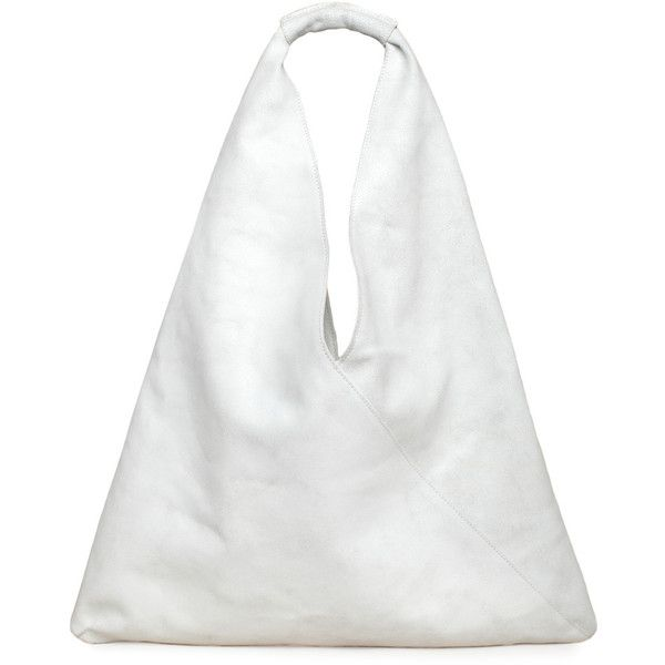 MM6 by Maison Martin Margiela Triangle Bag ($530) found on Polyvore
