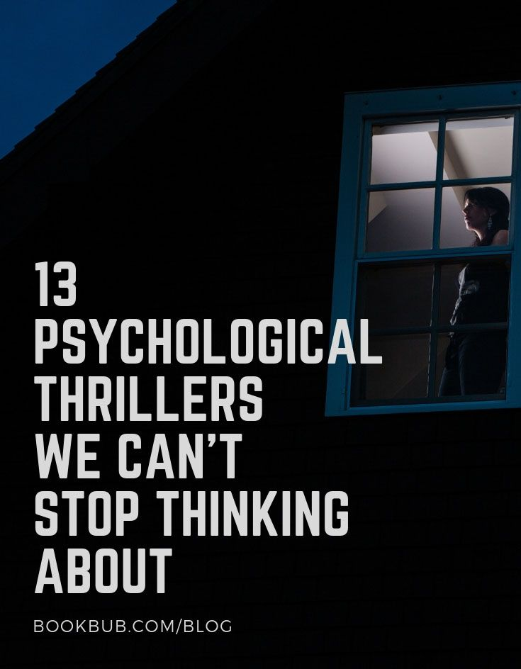 13 Twisty Psychological Thrillers Coming This Fall in 2019