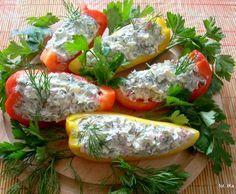 Smaczna Pyza sprawdzone przepisy kulinarne: Papryka faszerowana twarożkiem