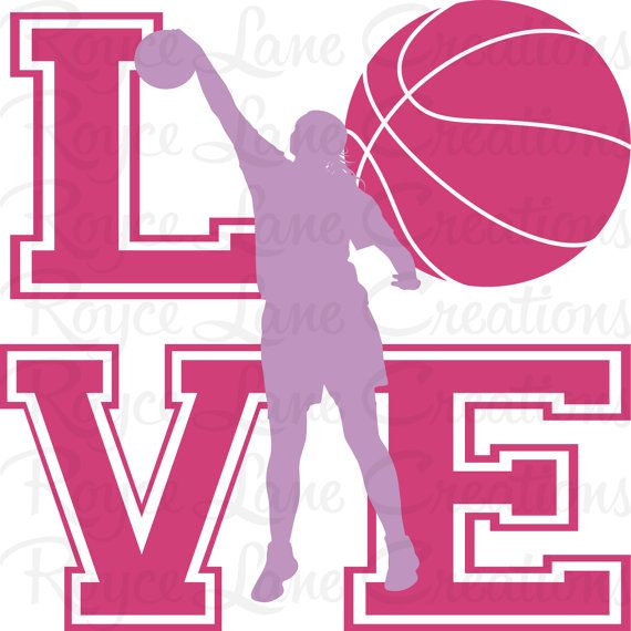 Sale Basketball Wall Decal for Girls Room by RoyceLaneCreations