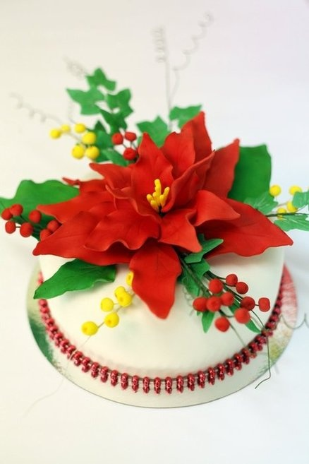 Christmas cake Cake by Neva Christmas Cakes Pinterest ...