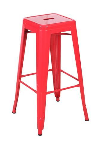 Buy Replica Tolix Stool 66cm Red Online at Factory Direct Prices w/FAST, Insured, Australia-Wide Shipping. Visit our Website or Phone 08-9477-3441