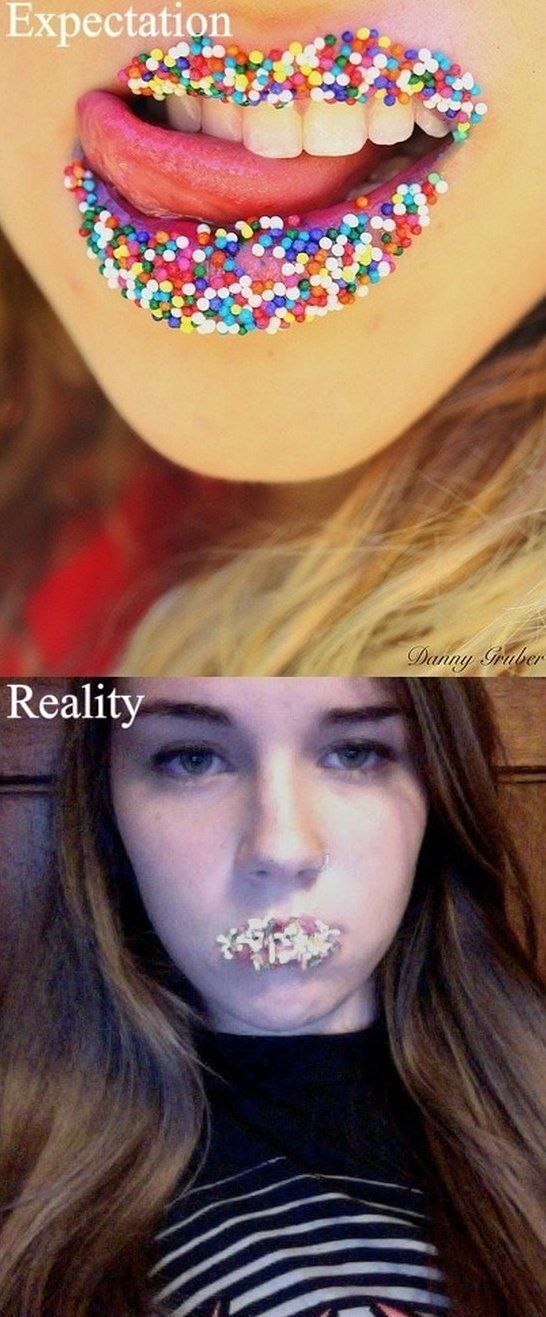 Sweet lips - Expectation vs Reality - http://www.jokideo.com/