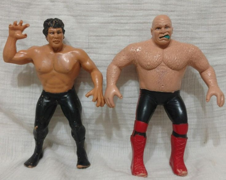 #transformer wwf 1986 wrestling superstars george the animal steele figure titan sports ljn