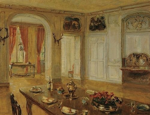 Walter Gay  The Dining Room  Late 19th - early 20th century