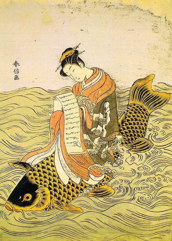 suzuki harunobu | Suzuki Harunobu Art Print, 29865 | Paintings Art Gallery