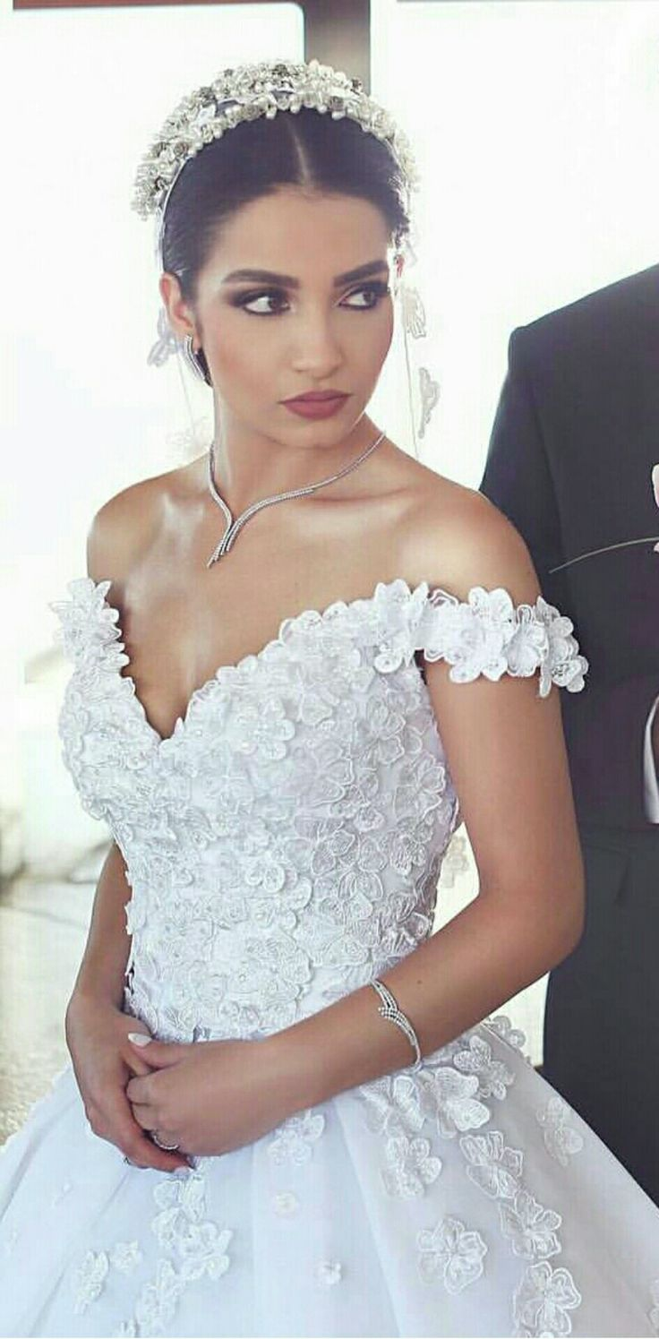 Lace jacket over wedding dress january 2019  best Gelinlik images on Pinterest  Bridal Bridal gowns and