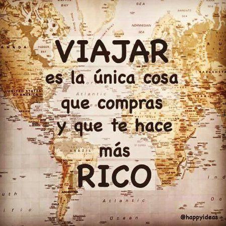 Viajar es la única cosa que #Instagram de #proZesa  Instagram frases instagram proZesa