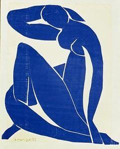 Blue- Pablo Picasso, Henri Matisse, Yves Klein