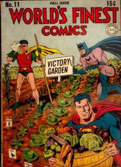 victoryComics Book, Super Heros, Food, Victory Gardens, Herbs Gardens, Superheroes, Super Heroes, Batman Robin, Victorygarden