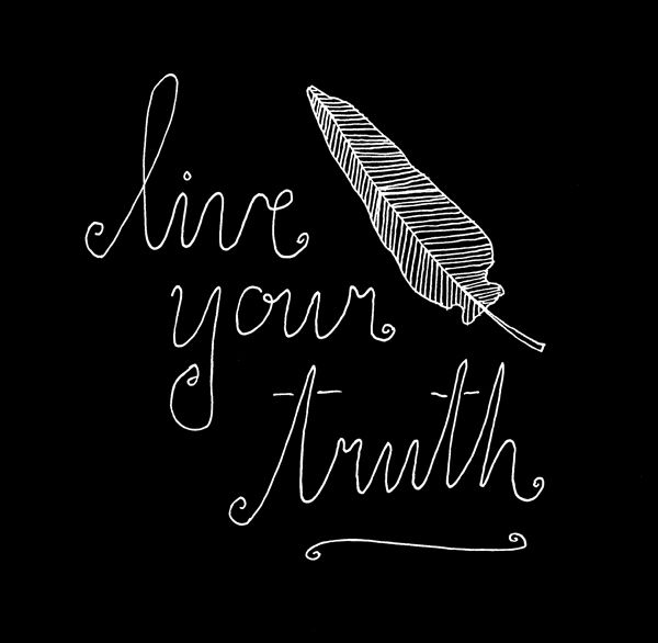 live your truth | Lisa Congdon