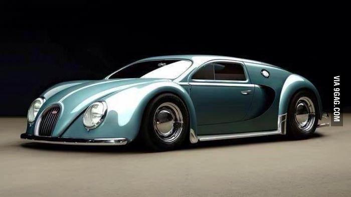 The 1945 Bugatti Veyron