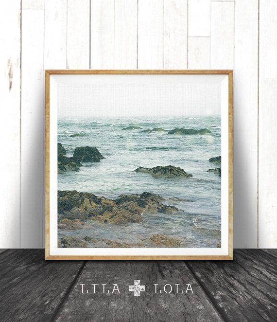Beach Art Print Coastal Photo Wall Art Ocean Print von LILAxLOLA