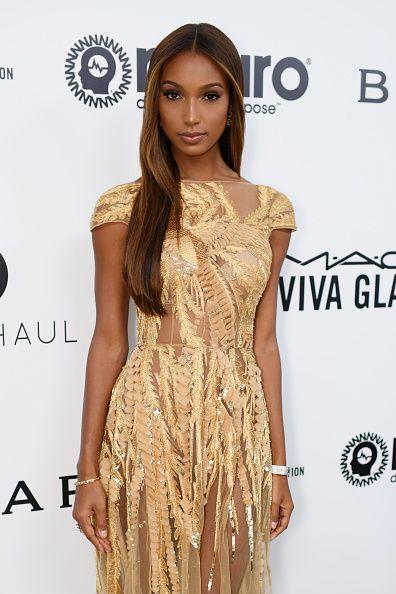 El ángel de Victoria's Secret, que en el último desfile llevó el fantasy bra, escogió a Zuhair Murad para vestir en una noche tan especial como la de los Oscar.