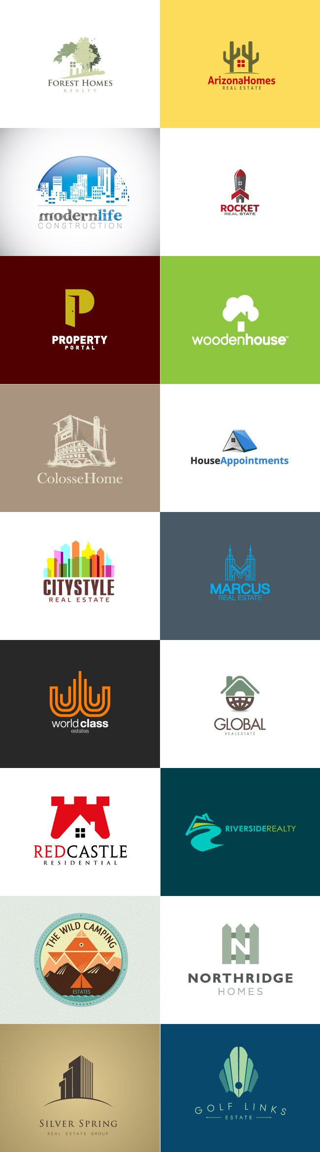 grafiker.de - Logo-Inspiration: Immobilien & Co.