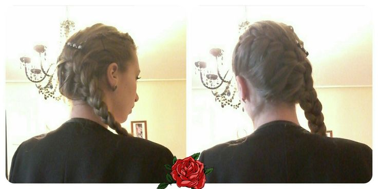 Last hairstyle from my blog voyageavecsophie.wordpress.com #hairstyle
