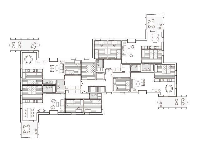 die besten 25 wohnungsgrundrisse ideen auf pinterest wohnung grundriss sims 2 und studio. Black Bedroom Furniture Sets. Home Design Ideas