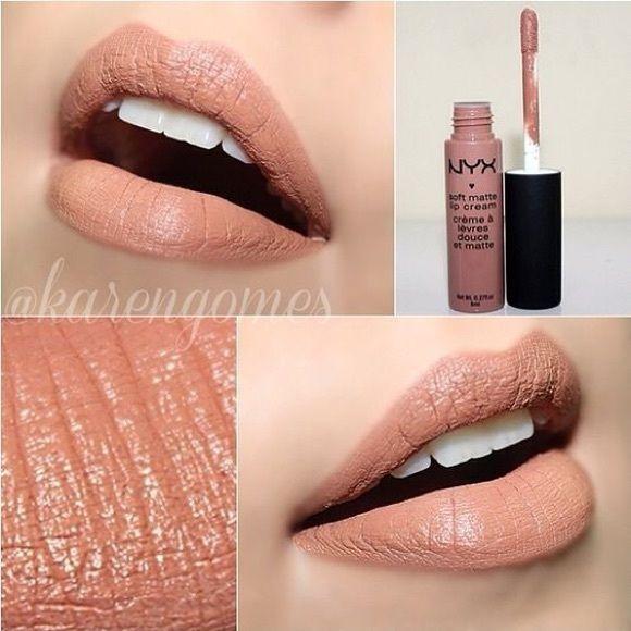 NYX SMLC LONDON NEW Soft matte lip cream NYX Makeup Lipstick