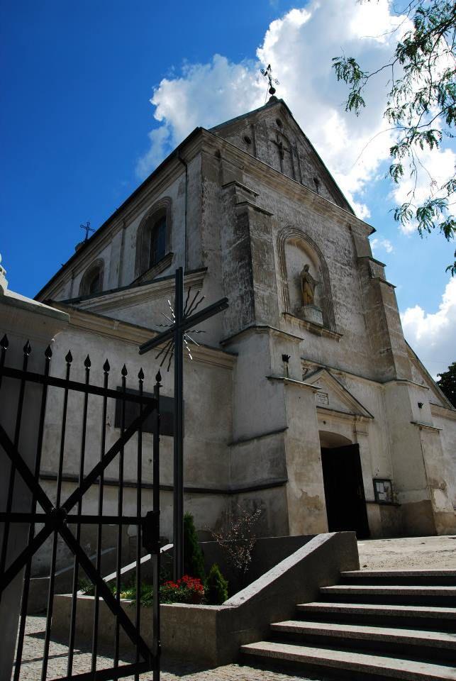 kościół św. Andrzeja Apostoła  #Łódzkie #Łęczyca #Polska #podróże
