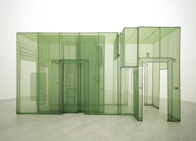Do Ho Suh, Wielandstr, Berlin Polyester fabric sculpture installation