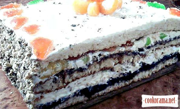 Торта з сира рецепт фото