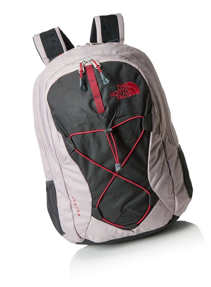b7e596b2d02 eBay  Sponsored The North Face Women s Jester Quail Grey Heather Cerise  Pink On... Free Shipping. Find this Pin and more on Men s Accessories ...