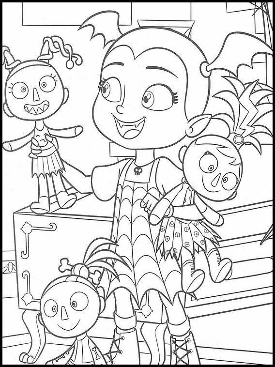 Vampirina Coloring Pages 17 Cartoon Coloring Pages Free Halloween Coloring Pages Christmas Coloring Books