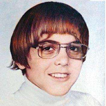 The Most Embarrassing Celebrity Yearbook Photos- George Clooney
