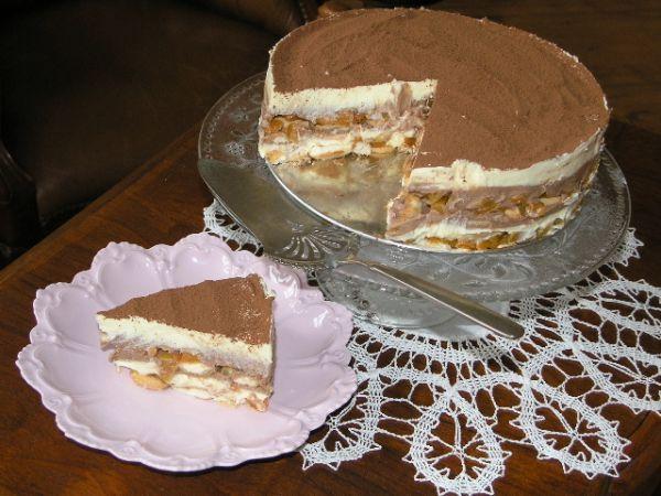 Nepečená pudingová torta