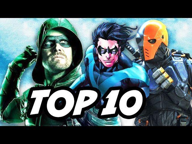 Arrow 5x19 TOP 10 And Teen Titans Series Deathstroke Explained - Video --> http://www.comics2film.com/arrow-5x19-top-10-and-teen-titans-series-deathstroke-explained/  #TeenTitans