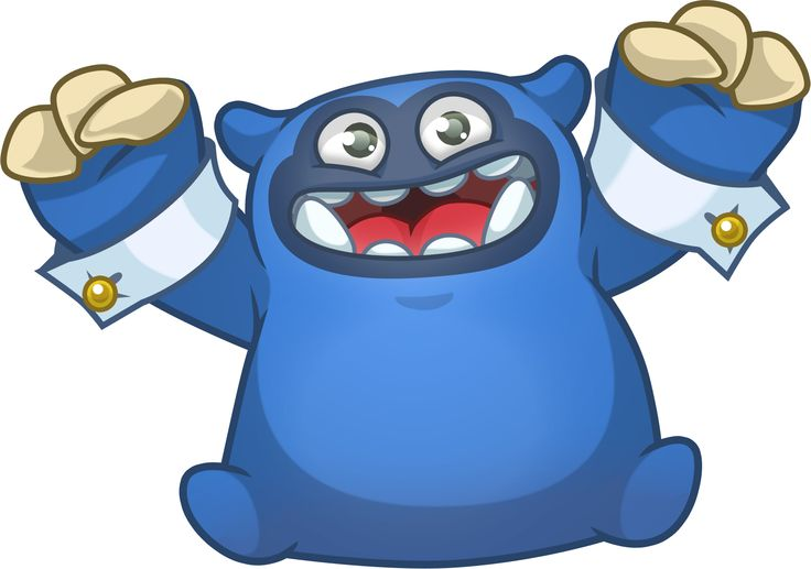 It's cuddly Mr Bluebelly! // Character concept art from mobile game