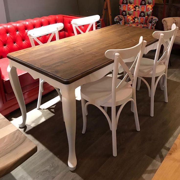 Country dining table #countrymobilya #countrymasa #masifmobilya #ahsapmobilya #cevizmobilya #masifmasa #masa