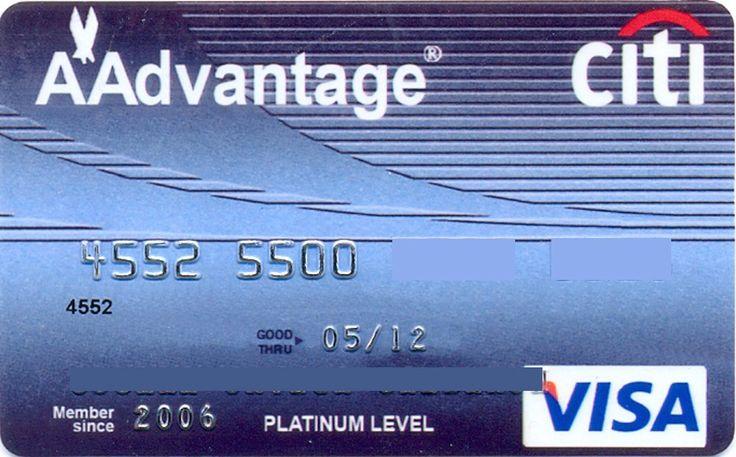 A*Advantage VISA Platinum Level (Citibank, Mexico) Col:ME-VI-0141
