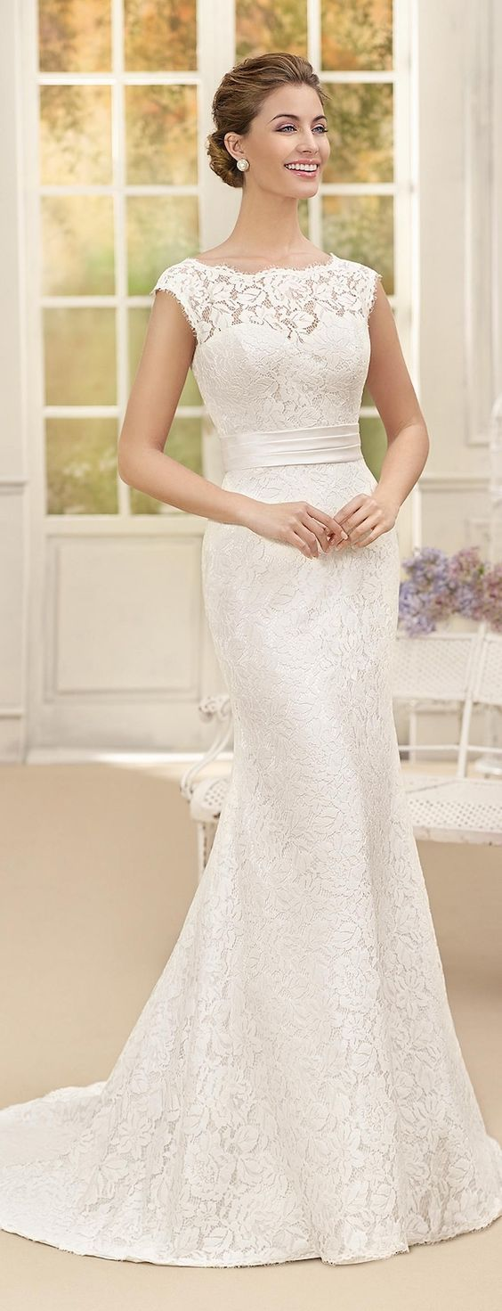 Featured Dress: Fara Sposa; Wedding dress idea.