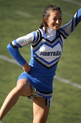 Cheerleader outfit malfunctions