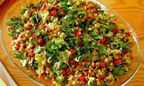 Derya'nın Dünyası Maş Salatası Tarifi 09.12.2014