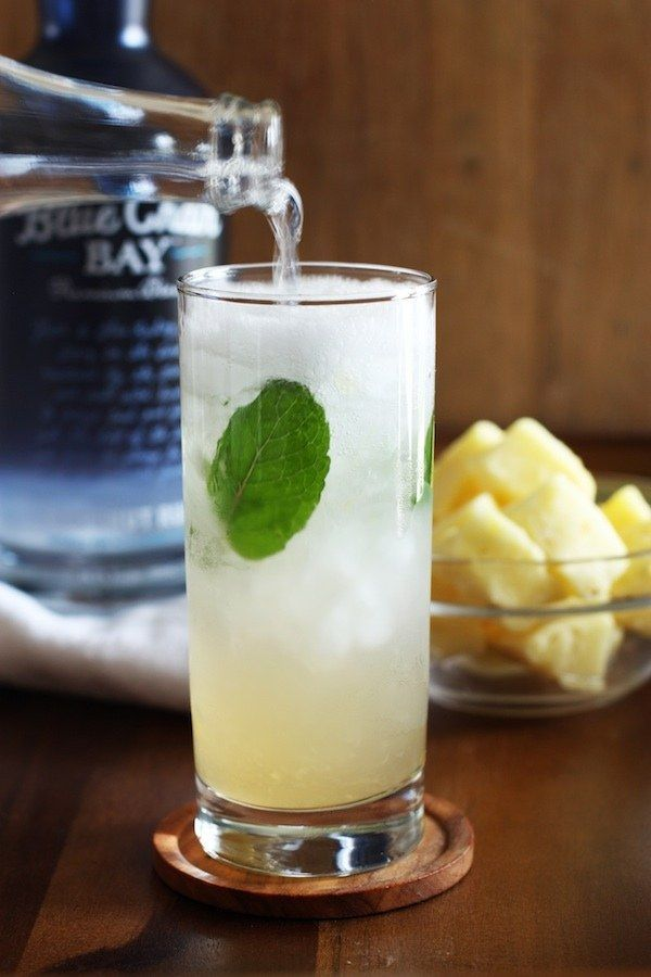 Pineapple Coconut Mojito | 23 Rum Cocktails You Need To Know About