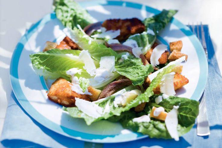 Kijk wat een lekker recept ik heb gevonden op Allerhande! Caesar salad