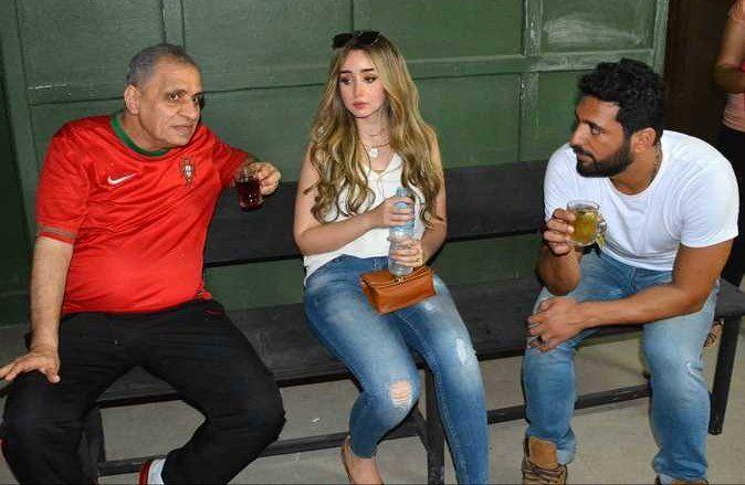 ابطال فيلم عقدة الخواجة Couple Photos Scenes Photo