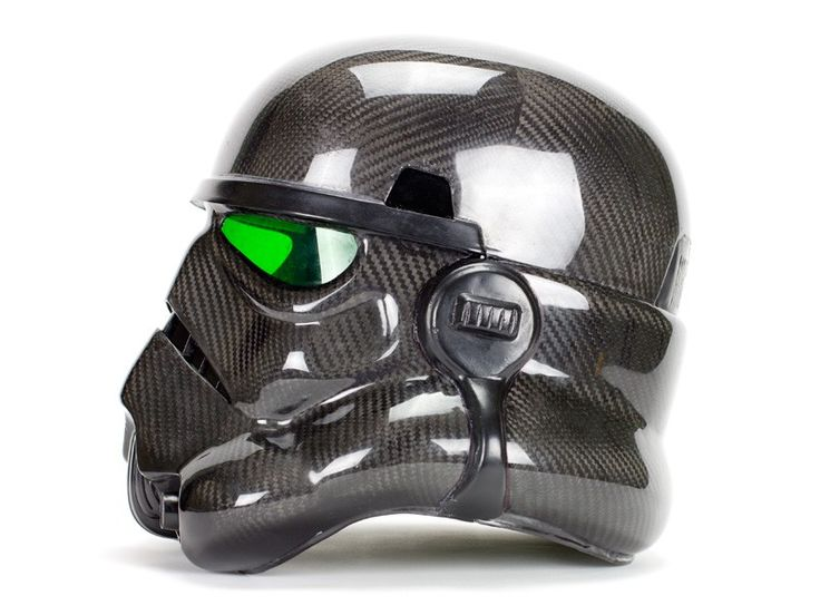 Carbon Fiber Stormtrooper Helmet by Carbon Fiber Gear
