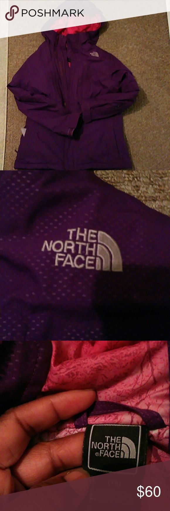The North Face Coat The North Face winter coat purple The North Face Jackets & Coats