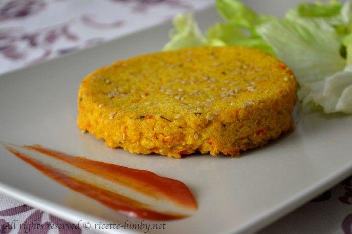 Burger di quinoa e lenticchie rosse