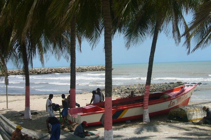Playa de Riohacha - Guajira - Colombia