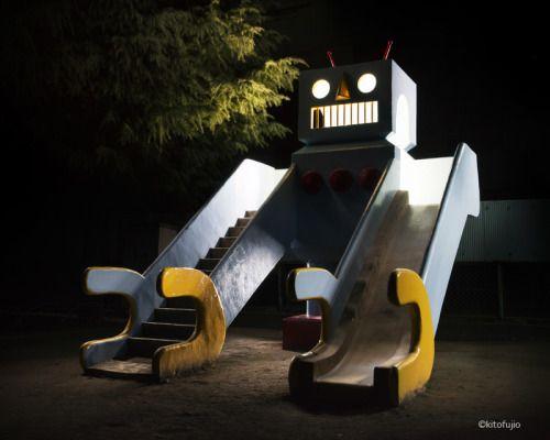 """fujio-pand-park: """"  北区 王子6丁目児童遊園 http://fujio-panda.com 2/28サンクリにて公園遊具の写真集を販売します。場所は「K−14a」 """""""