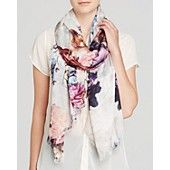 Lily and Lionel Flores Pastel Scarf