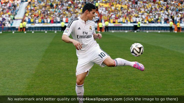 James Rodriguez Football Player 4K wallpaper