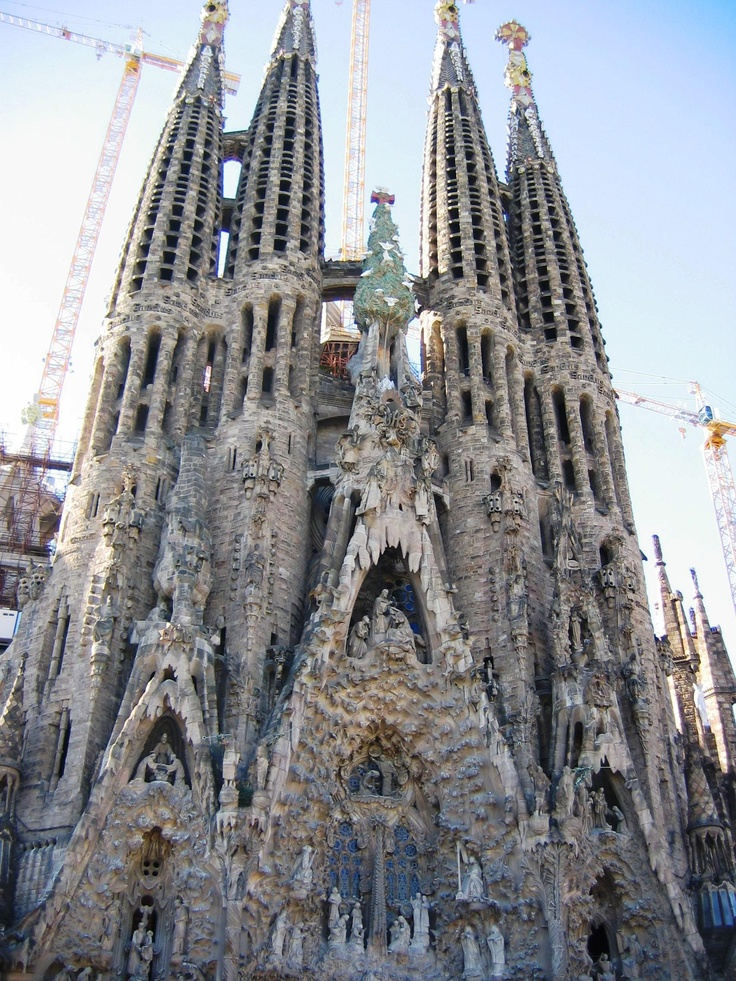 59 best images about antoni gaud on pinterest parks for Kathedrale barcelona gaudi