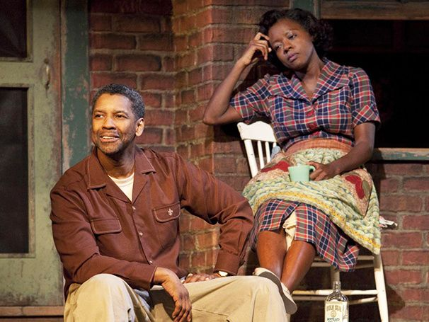 Denzel Washington to Produce All 10 August Wilson Plays for HBO, Including Fences with Viola Davis