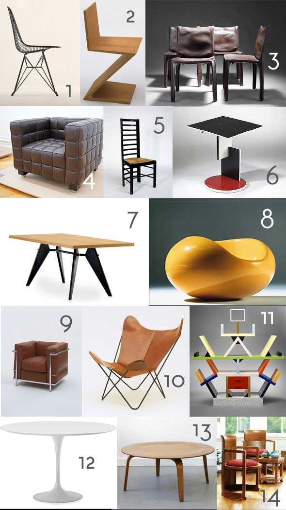 Furniture History Pop Quiz